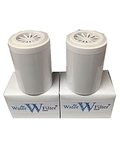 2/x Finerfilters cartuchos de filtro de ducha de repuesto