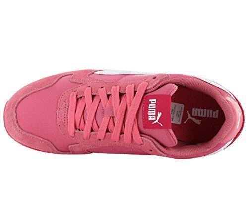 Puma St Runner Nl 358.770-20 Dames Schoenen Sneaker Suède Sportschoenen Roze Roze (roze En Wit)
