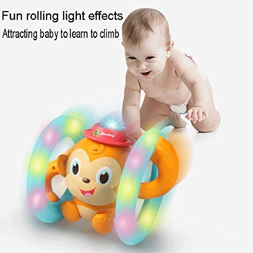 - Mopoq Monkey Toy Electric Light Dancing Animal Up and Down Swing Monkey Puzzle Tumbling Monkey Voice Control Touch Dynamic Singing Grasping Exercise Parent-Child Interaction