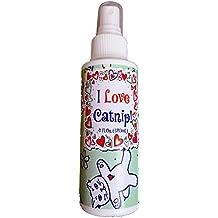 I Love Catnip! by Pet MasterMind - 4oz Liquid Catnip Spray - All Natural New Extra Potent Formula! - Made From 100% Canadian Grown Catnip!