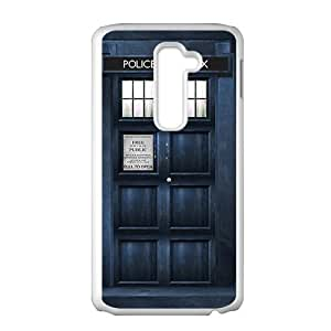 HUAH Blue police box Cell Phone Case for LG G2