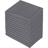 Utopia Bedding Queen Pillowcases - 12 Pack - Bulk Pillowcase Set - Envelope Closure - Soft Brushed Microfiber Fabric…