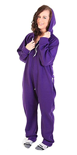 Forever Lazy Heavyweight Adult Onesie - Purple Haze - XL
