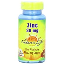 Zinc Picolinate by Nature's Life - 100 capsule