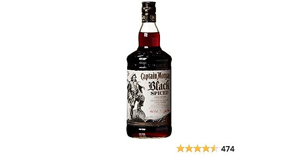 Captain Morgan Ron Black Spiced - 1000 ml