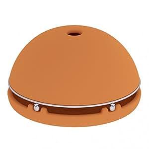 Brasero de sobremesa - Calentador a velas - Calefactor de cerámica - Natural