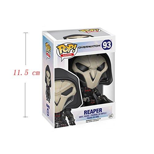 Funko Pop! Games: Overwatch Action Figure - Reaper