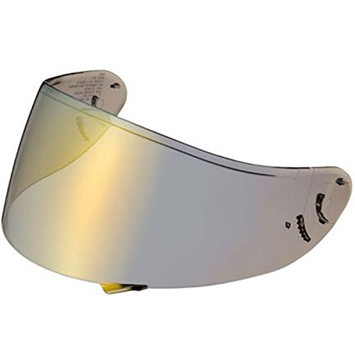 Shoei C-W1 Pinlock Shield Helmet Accessories - Gold One Size