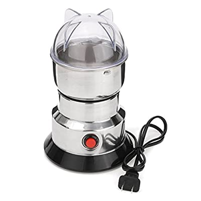 Formulatwoo Electric Herbs/Spices/Nuts/Coffee Bean Mill Blade Grinder with Stainless Steel Blades Household Grinding Machine Tool