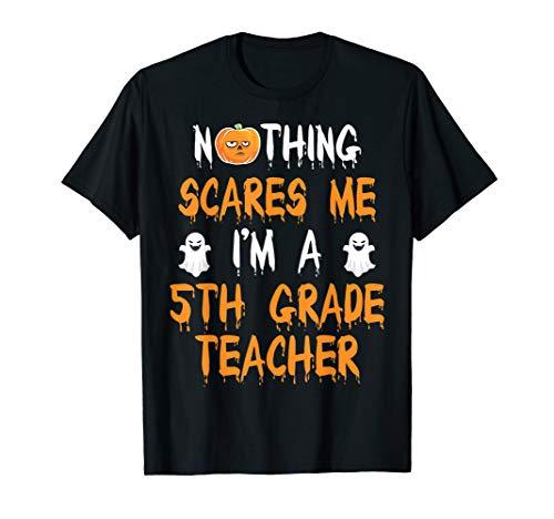 5TH GRADE TEACHER Halloween Costume Gift T-Shirt