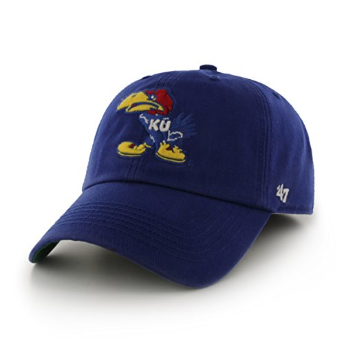 NCAA Kansas Jayhawks '47 Franchise Fitted Hat, Large (Kansas Bike Jersey)