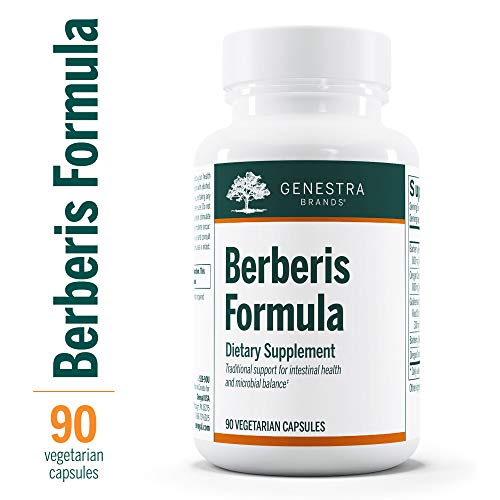 Genestra Brands – Berberis Formula – Barberry, Goldenseal, and Oregon Grape Herbal Supplement – 90 Capsules