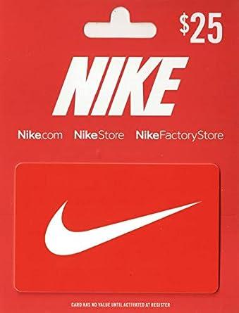 Amazon.com: Tarjeta de regalo de Nike.: Tarjetas de regalo