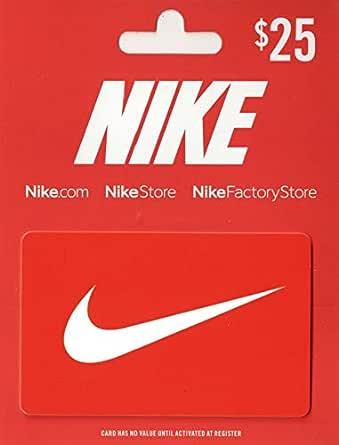 Amazon Com Tarjeta De Regalo De Nike Tarjetas De Regalo