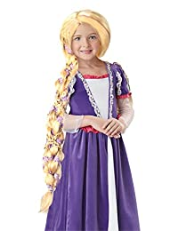 California Costumes Rapunzel Wig Costume, One Color