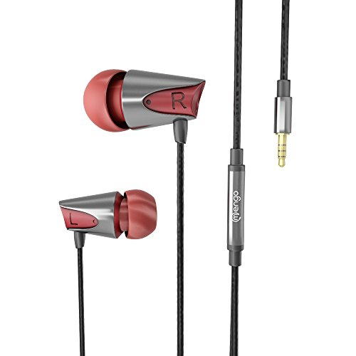 - Mengo Bumps in-Ear Earphones [Ultra Bass] with Built-in Microphone for Smartphones (iPhone Samsung LG HTC Nokia iPod iPad) - Retail Packaging ...