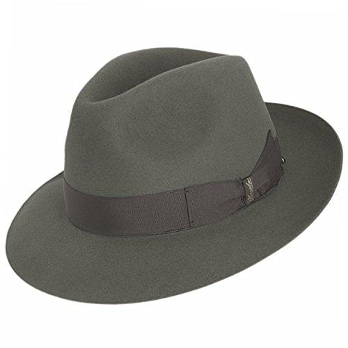 - Borsalino Bellagio Fur Felt Hat - Taupe - 57