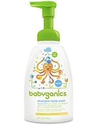 Babyganics Baby Shampoo 宝宝沐浴洗发露 473ml 3瓶折后$19.82直邮中国