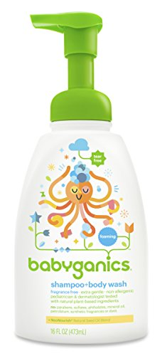 Babyganics Shampoo + Body Wash