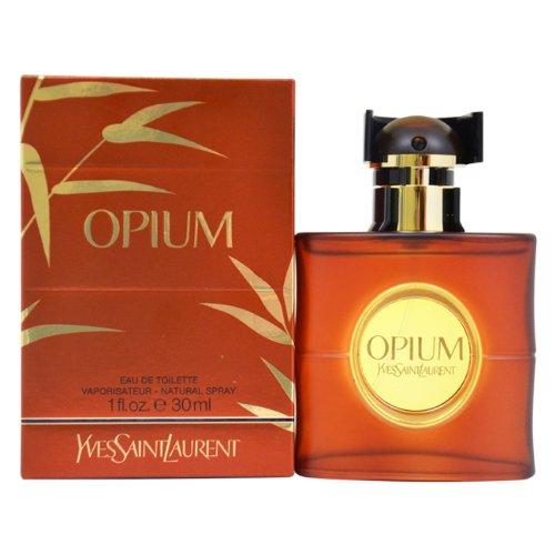 Yves Saint Laurent Opium Eau de Toilette Spray for Women, 1 Ounce by Yves Saint Laurent