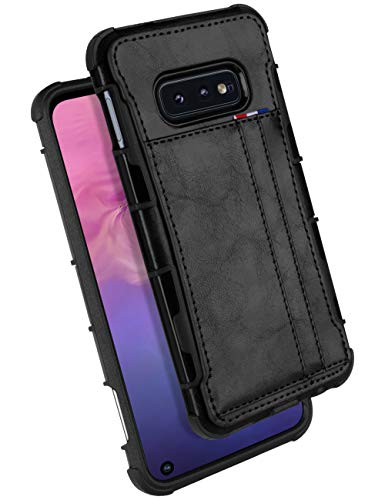 samsung galaxy s10e wallet case with bumper