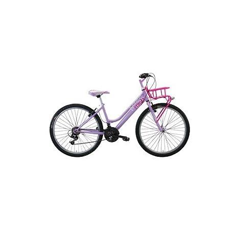 Bicicletta City 24 Klass Miss Trendy 18 Velocita Rosa Amazonit
