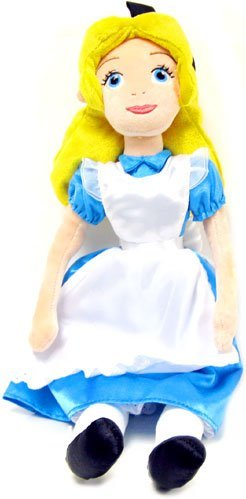 Disney Alice In Wonderland Movie Exclusive Deluxe 22 Inch Plush Figure Alice (Wonderland Doll Alice In)