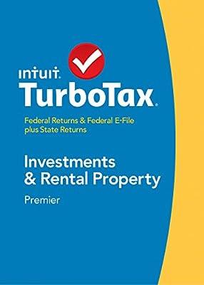 TurboTax Premier Fed + Efile + State