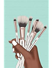 Make-Up is Art: Lined Journal for Black Women Who Love Makeup Artistry