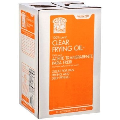 Bakers & Chefs Clear Frying Oil - 35 lbs. (Best Cooking Oil For Deep Frying Turkey)