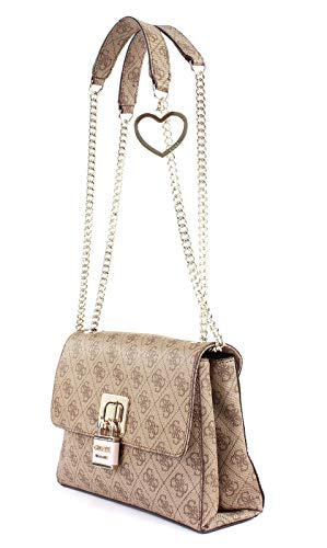 L X Femme Guess brown Bandoulière Downtown w H 5x7 5x17 Flp 5 Multicolore 28 Cool À Xbody Cvrtbl Centimeters Sac wTxZ4wr8