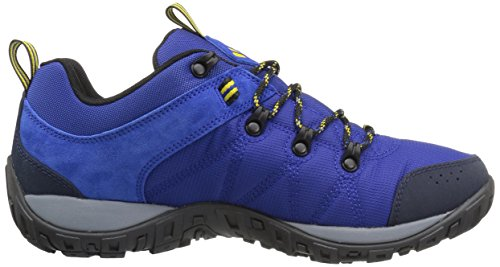 Columbia Mens Peakfreak Venture Lt Hiking Boot Azzurro, Giallo Elettrone