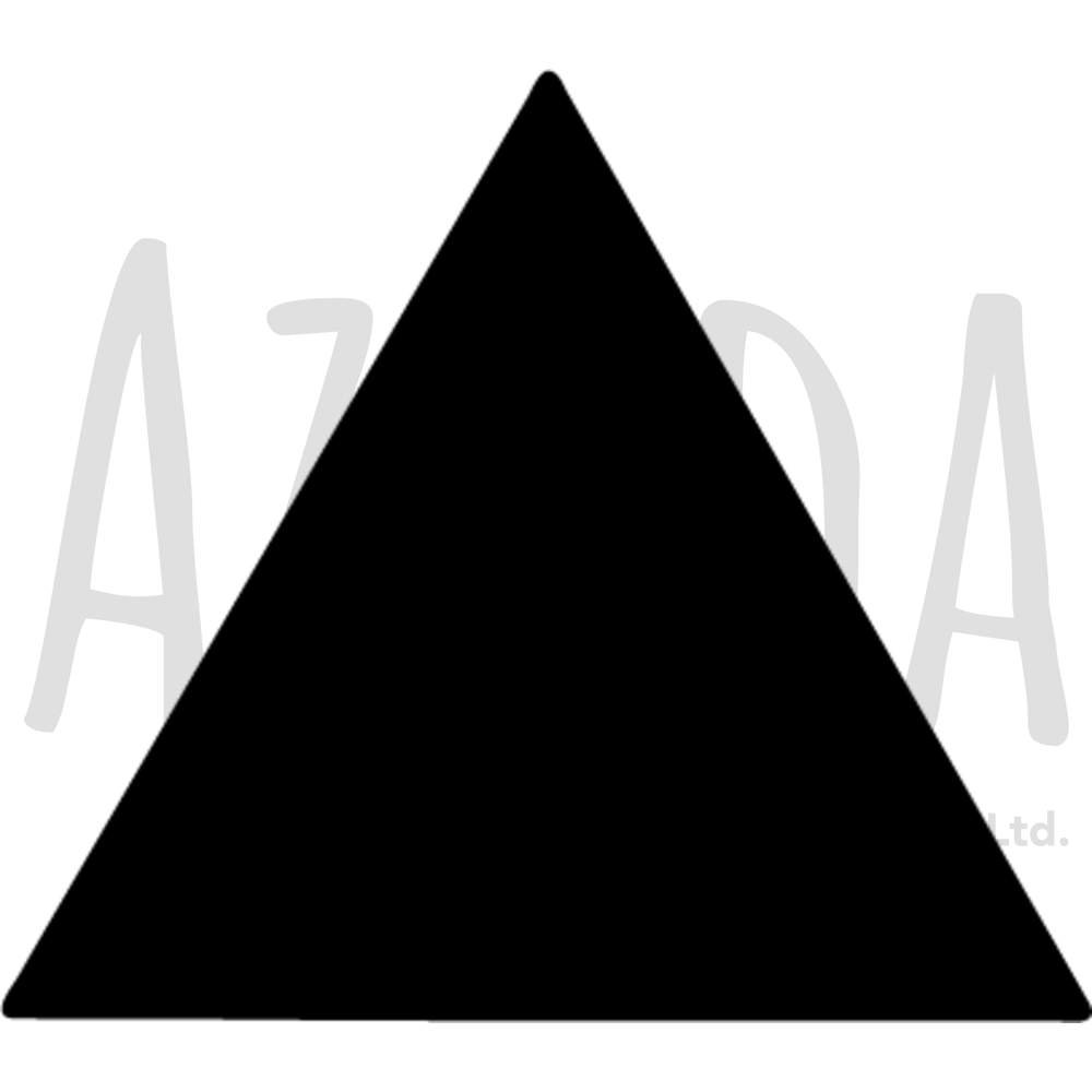 Azeeda A4 'Triangle' Wall Stencil / Template (WS00013264)