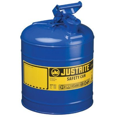 - Justrite - Type I Safety Cans 5G/19L Safe Can Blu: 400-7150300 - 5g/19l safe can blu