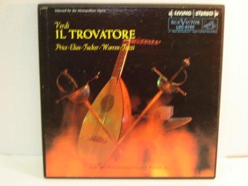 Verdi : Il Trovatore / Salvatore Commarano, Libretto / Three Record Boxed Set/ Shaded-dog Stereo / 1960 (Leonard Dog House)