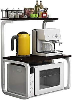 Rack de microondas para cocina, Forma única de