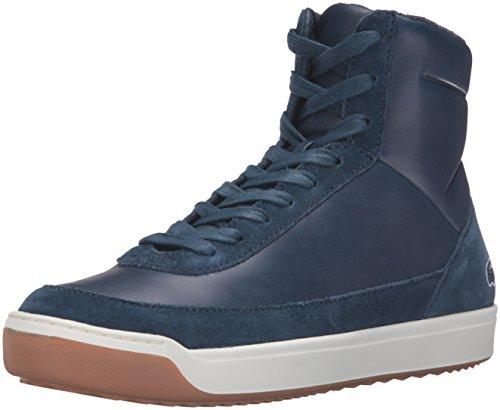 Lacoste Women's Explorateur Calf 316 2 Caw Nvy Fashion Sneaker, Navy, 8 M US