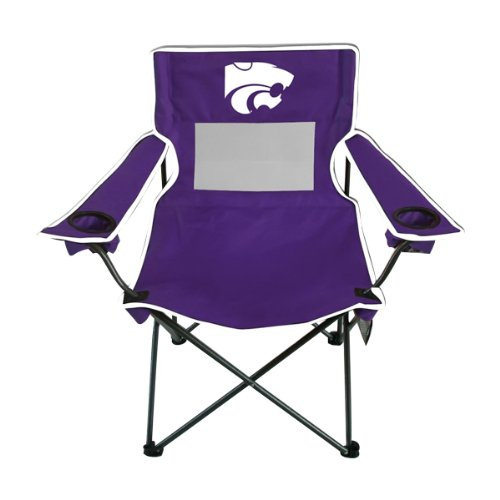 Rivalry Team Logo Picnic Outdoor Events Kansas State Monster Mesh Adult Chair