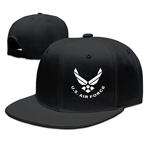 BDHESR US AIR FORCE Snapback Hats For Men Cool Dancing Flat Bill Hats Fitted Hats For Men