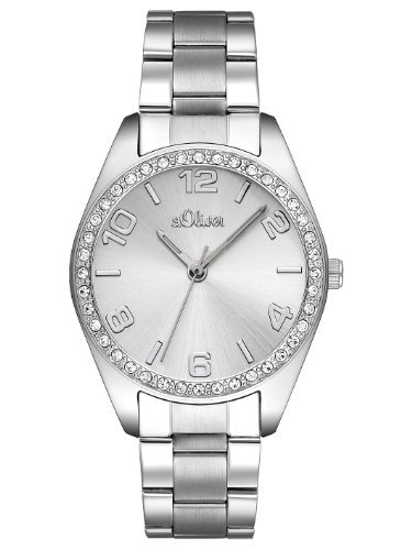 s.Oliver Women's Quartz Watch s.Oliver SO-2276-MQ with Metal Strap