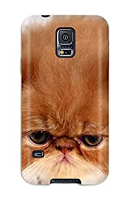 Awesome Case Cover/galaxy S5 Defender Case Cover(persian Cats)