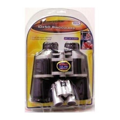 10x50 Binoculars With Extra 4x22 Bonus Binocular by Sakar