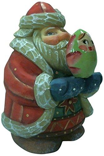 G. Debrekht 4 Inch Santa Matreshka, Gift Expressions Santa (Santa Debrekht)