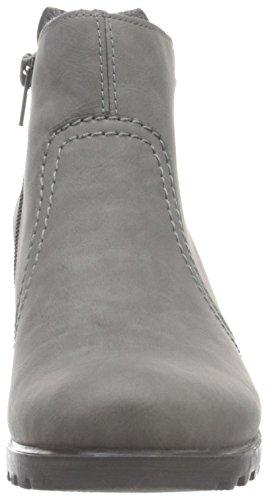 Rieker Y8062, Botines para Mujer Gris (Dust)