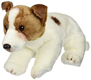 Nat and Jules Plush Toy, Jack Russell Terrier, Large