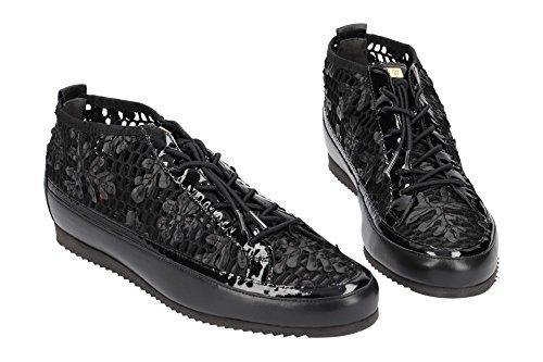 Cordones Negro Högl Mujer para 510231801000 Zapatos de yUqfCUptw