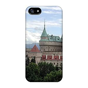 Iphone 5/5s Case Cover With Shock Absorbent Protective PsyohgM8686NMUae Case
