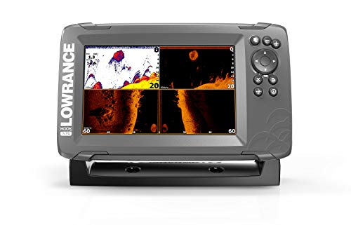 7-inch Fish Finder with TripleShot Transducer and GPS Plotter (000-14022-001) ()