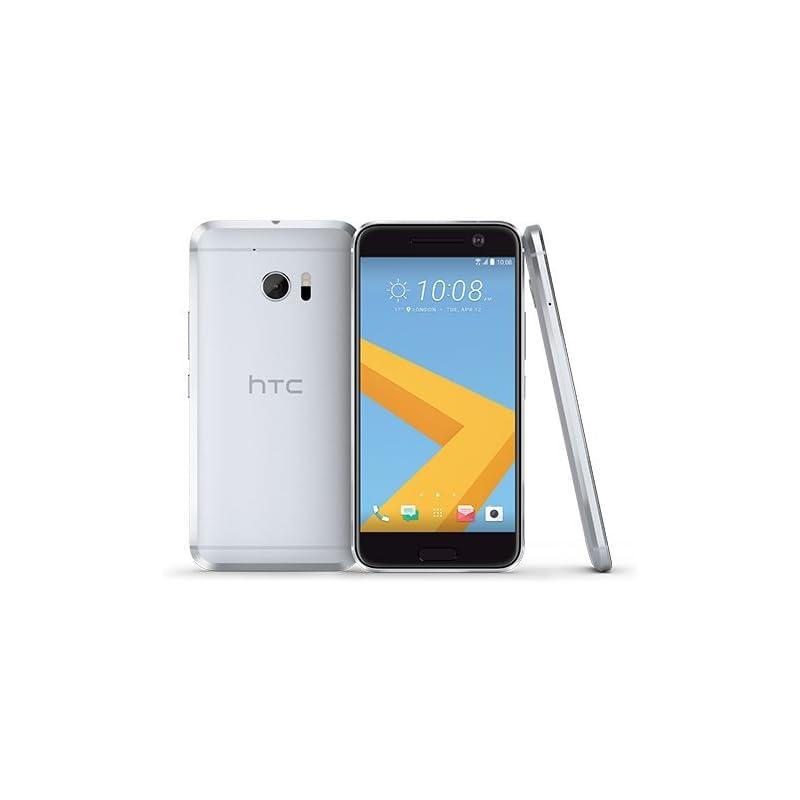 HTC 10 32GB Glacier Silver, 5.2-Inch, 12