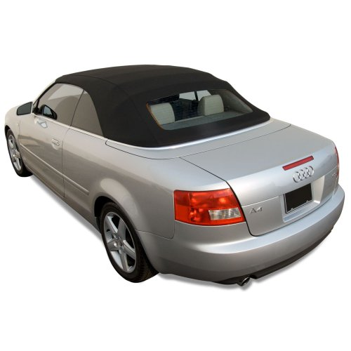 Audi A4 2003-2009 Convertible Top with Glass Window made from Haartz Twillfast RPC, Black 2006 Audi A4 Convertible